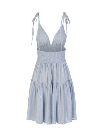 Sundress Blue Yolanda Mini Dress