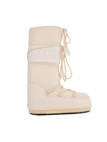 Moon Boot Cream Icon Nylon Boots