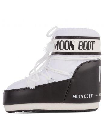 Moon Boot White Nylon Icon Low Boots