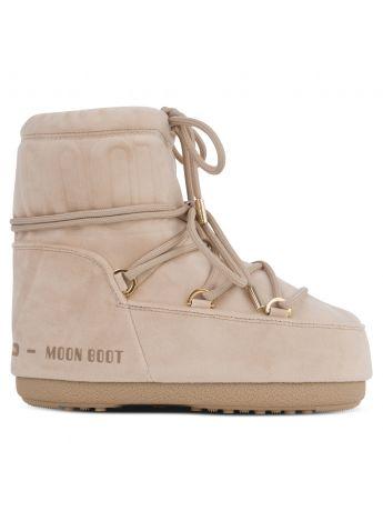Moon Boot Beige LAB69 Mars Velvet Boots