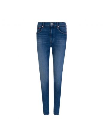 Tommy Jeans Sylvia Blue High Rise Super Skinny Jeans