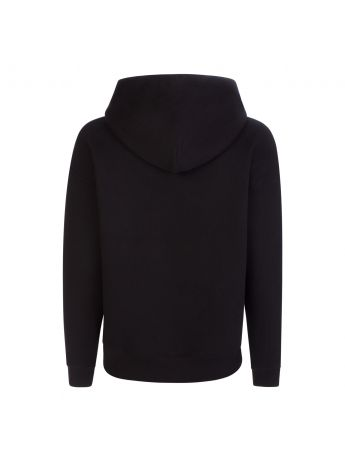 Tommy Jeans Black Heart Flag Boxy Hoodie