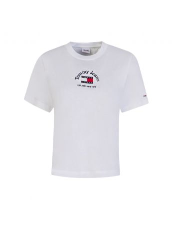 Tommy Jeans White Timeless T-Shirt