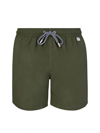 MC2 Saint Barth Green Pantone Swim Shorts