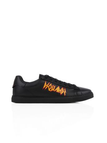 Dsquared2 Black New Tennis Trainers