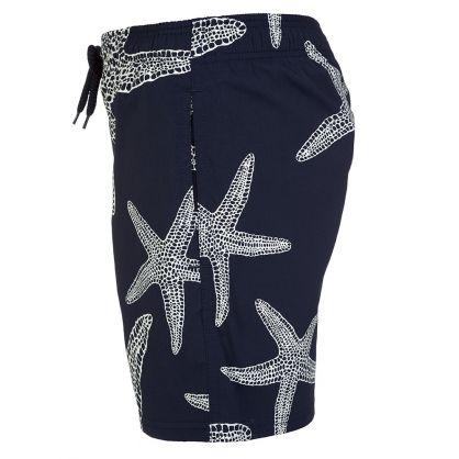 Junior Navy Starlette Glow in the Dark Swim Shorts