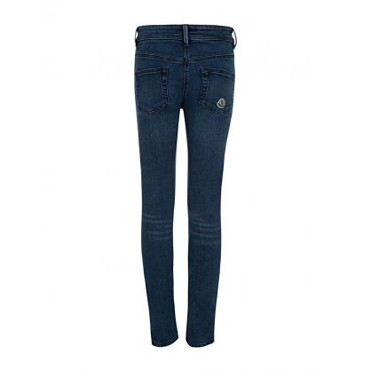 Stonewash Skinny Jeans