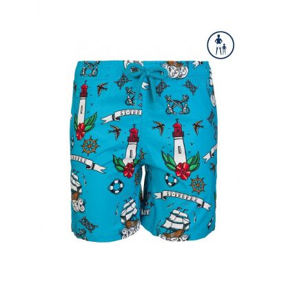 Junior Tattoo Swim Shorts