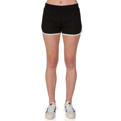 Black Track Shorts