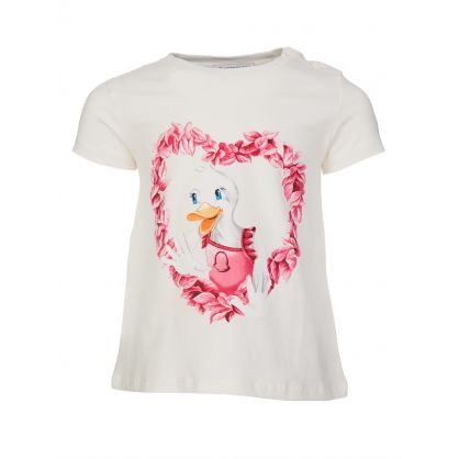 Cream Duck T-shirt