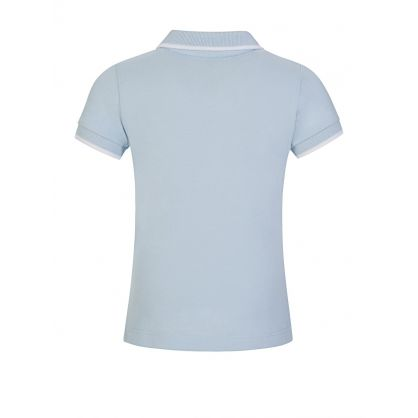 Light Blue Logo Polo Shirt