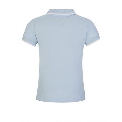 Light Blue Logo Polo Shirt