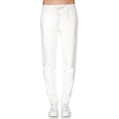 Cream Track Sweatpants