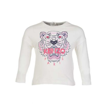 Baby  Cream Tiger Icon T-Shirt