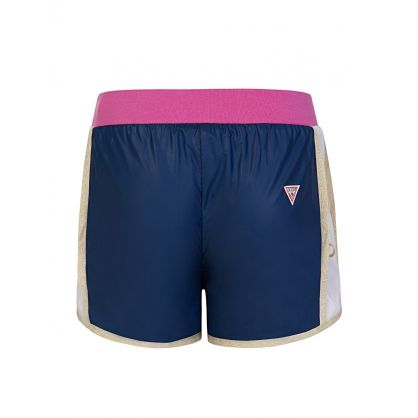 Kids Blue Active Shorts