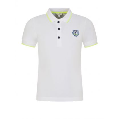 White Tiger Polo Shirt
