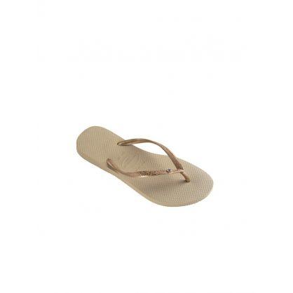 Sand Slim Crystal Glamour Flip-Flops