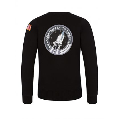 Black 100th Space Shuttle Mission Sweatshirt