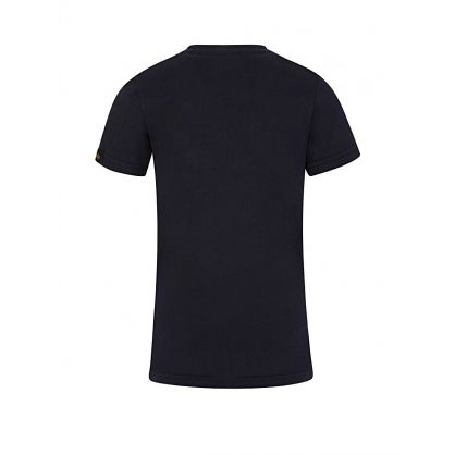 Kids Navy NASA Reflective T-Shirt