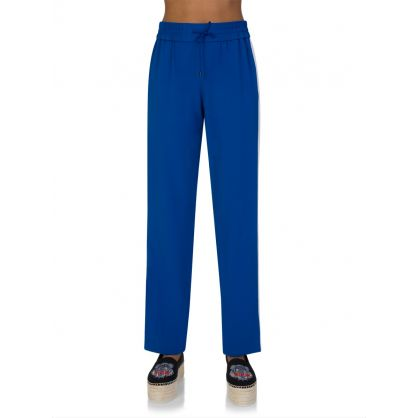 Blue Fluid Trousers