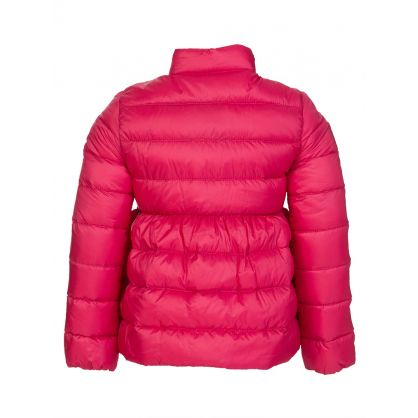 Pink Joelle Down Padded Jacket