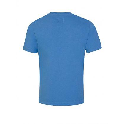 Blue Chest Logo T-Shirt