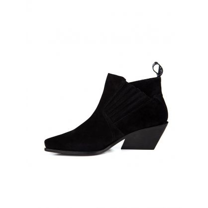 Black Rider Ankle Boots
