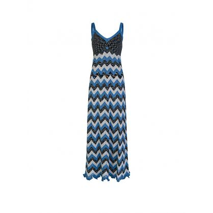 Navy Maxi Collection Dress