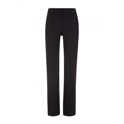 Black Violetta Tuxedo Trousers