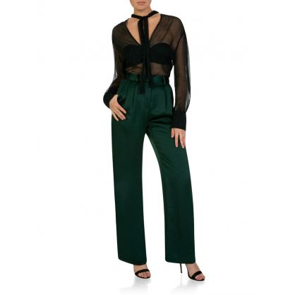 Emerald Gabrielle High Waist Pants