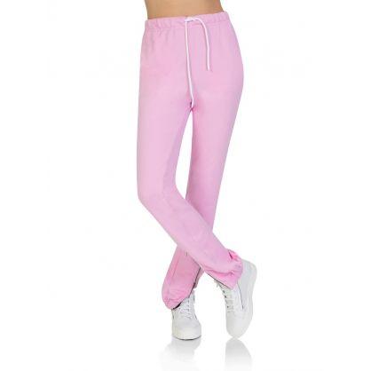 Pink Milan Zip Joggers