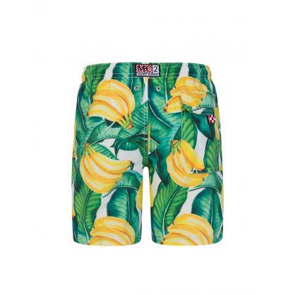Junior Yellow Banana Swim Shorts