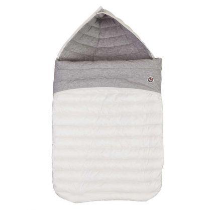 White Padded Baby Nest