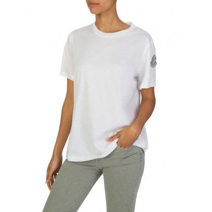 White Sleeve Logo T-Shirt