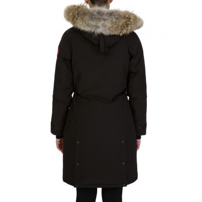 Black Kensington Parka Coat