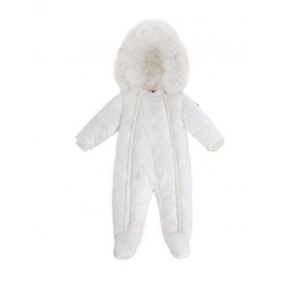 White Roland Snowsuit