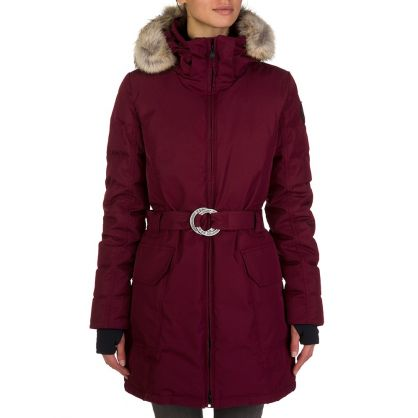 Bordeaux Hazelton Coat