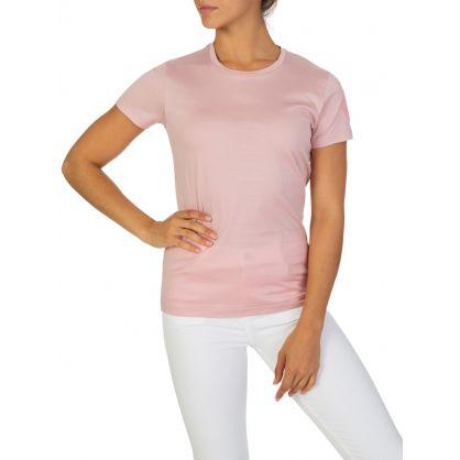 Coral Pink Logo T-Shirt