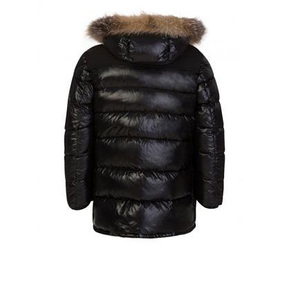 Black Loupmont Down Padded Coat