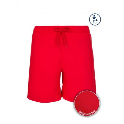 Junior Water Active Red Swim Shorts