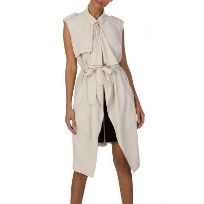 Moon Sand Gilet Maxi Dress