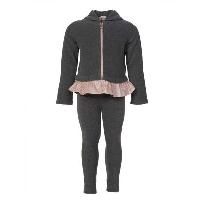 Grey Frill Tracksuit