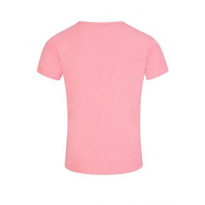 Pink Sports Line Logo T-Shirt