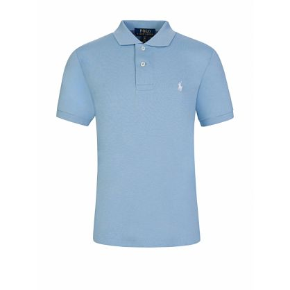 Kids Light Blue Polo Shirt