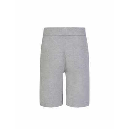 Kids Grey Cotton Shorts