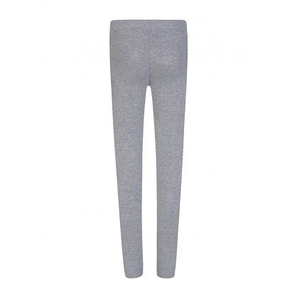 Kids Grey Logo Leggings