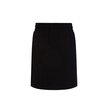 Kids Black Sweat Skirt