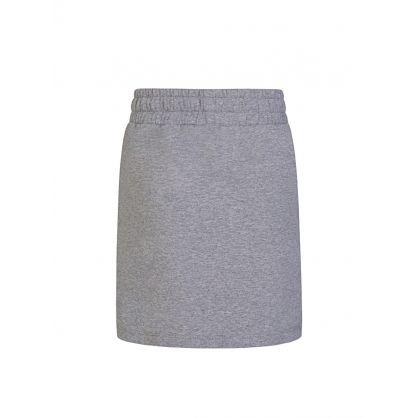 Kids Grey Sweat Skirt