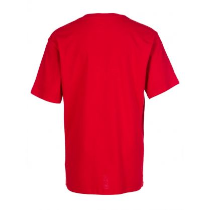 Kids Red Cotton T-Shirt