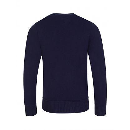 Kids Navy  Bears Logo Print Sweatshirt
